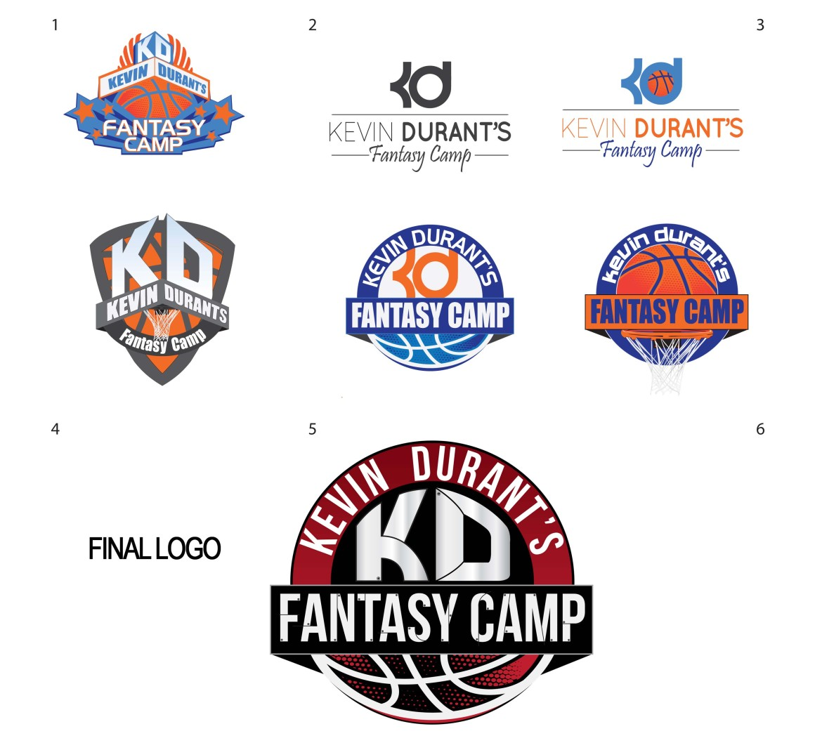 the gallery for gt kevin durant logo font